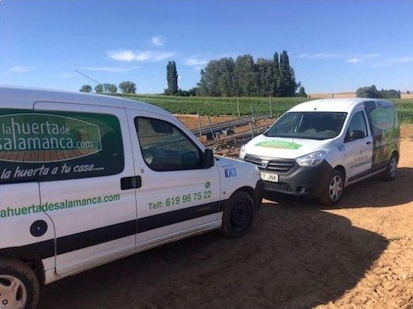 vehículos de la huerta de Salamanca